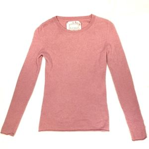 Old Navy bubblegum pink 100% cashmere sweater